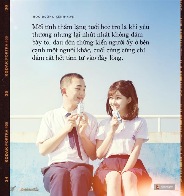 Trải qua bao mối tình, yêu bao nhiêu người vẫn không có thứ tình cảm nào đẹp vẹn nguyện như tình yêu học trò - Ảnh 6.
