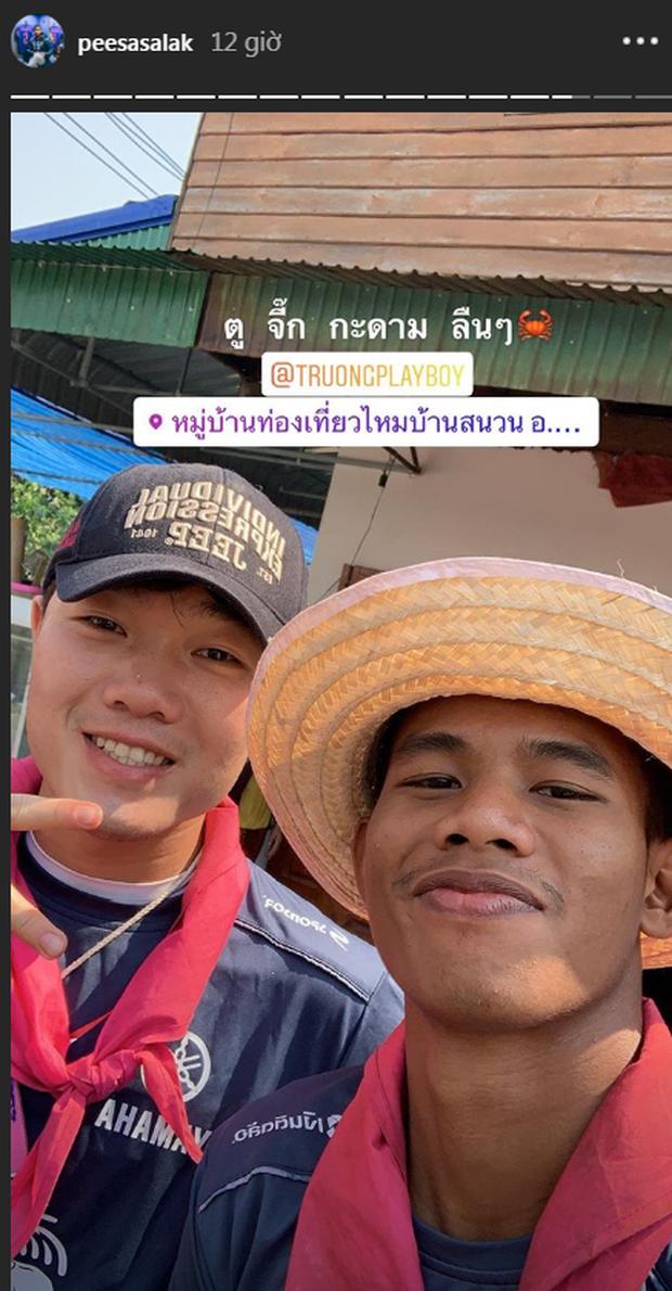 Đến Thái Lan chưa được bao lâu, Xuân Trường đã bắt đầu có một hội bạn thân rồi đấy - Ảnh 1.