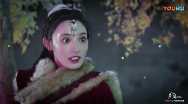 Bành Tiểu Nhiễm mắt trợn ngược như muốn ăn sống nam chính ngay tập mở màn Đông Cung - Ảnh 3.