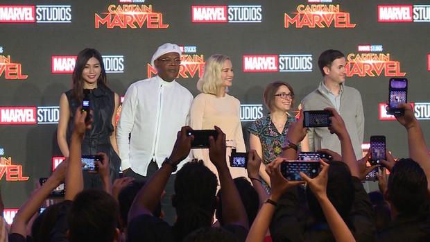 Hoa hậu Đỗ Mỹ Linh hỏi Brie Larson muốn ghép đôi với ai nhất MCU và nhận câu trả lời bất ngờ từ Đại Uý - Ảnh 4.