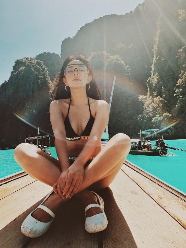 Diện bikini trên đảo Koh Phi Phi, Châu Bùi minh chứng: Muốn đẹp sexy, quan trọng nhất vẫn là thần thái! - Ảnh 2.