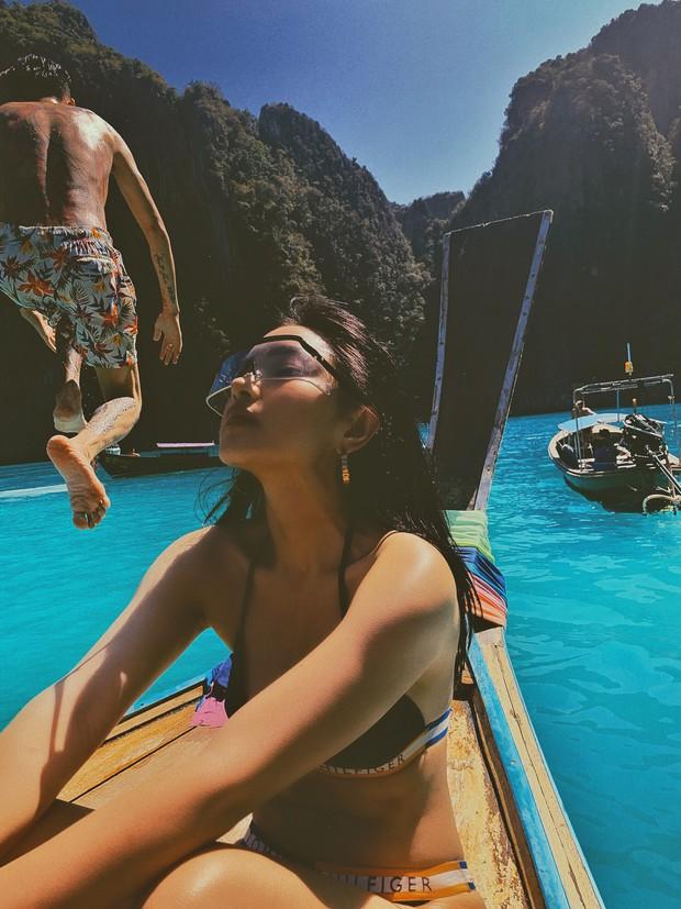 Diện bikini trên đảo Koh Phi Phi, Châu Bùi minh chứng: Muốn đẹp sexy, quan trọng nhất vẫn là thần thái! - Ảnh 6.