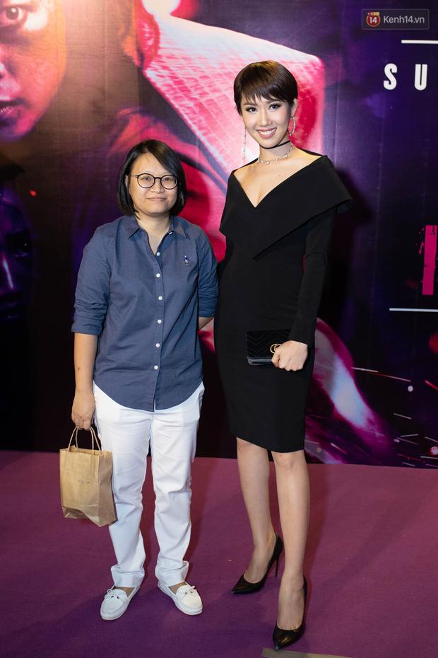 Tối 14/2, Ngô Thanh Vân tái ngộ tình cũ Johnny Trí Nguyễn tại buổi ra mắt phim hành động Hai Phượng - Ảnh 12.