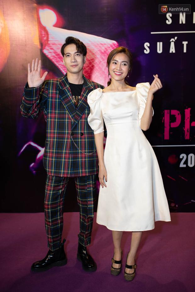 Tối 14/2, Ngô Thanh Vân tái ngộ tình cũ Johnny Trí Nguyễn tại buổi ra mắt phim hành động Hai Phượng - Ảnh 14.