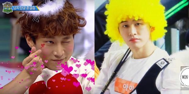 Thánh lầy Eunkwang (BTOB) vs. trai đẹp B.I (iKON): Bạn chọn phiên bản thần tình yêu nào? - Ảnh 1.