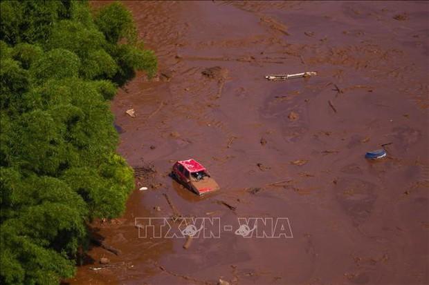 Vụ vỡ đập tại Brazil: 166 người thiệt mạng, 155 người vẫn mất tích - Ảnh 1.