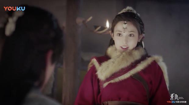 Bành Tiểu Nhiễm mắt trợn ngược như muốn ăn sống nam chính ngay tập mở màn Đông Cung - Ảnh 2.