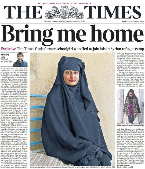 Bỏ nhà ra đi để gia nhập IS, nữ sinh Anh hối hận muốn trở về khi đã mang bầu 9 tháng - Ảnh 1.