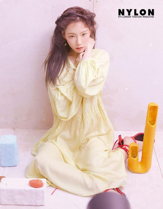 Ở tuổi 30, Taeyeon dọa soán ngôi nữ thần nhan sắc SNSD của Yoona nhờ bộ hình tạp chí mới đẹp như tiên tử - Ảnh 17.