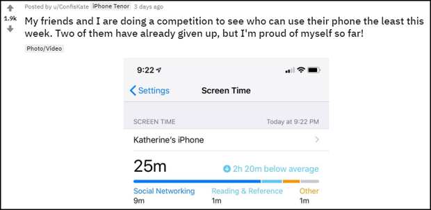 Up ảnh vui thành tích cai nghiện smartphone, cô gái khiến hàng nghìn người trố mắt vì kỷ lục vô đối - Ảnh 2.