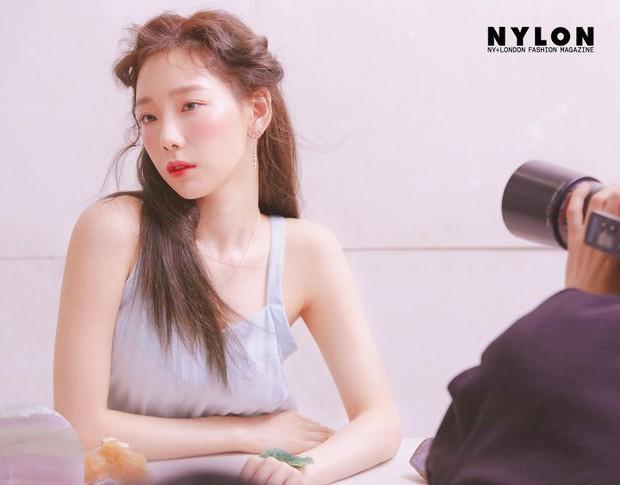 Ở tuổi 30, Taeyeon dọa soán ngôi nữ thần nhan sắc SNSD của Yoona nhờ bộ hình tạp chí mới đẹp như tiên tử - Ảnh 10.