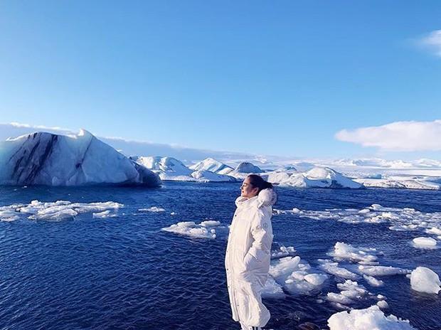 Bảo Anh và Hồ Quang Hiếu tiếp tục cùng đi du lịch Iceland, tình xưa đã nối lại? - Ảnh 2.