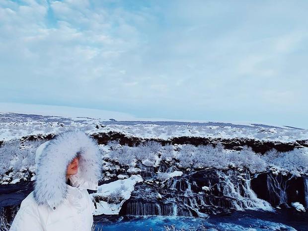 Bảo Anh và Hồ Quang Hiếu tiếp tục cùng đi du lịch Iceland, tình xưa đã nối lại? - Ảnh 1.