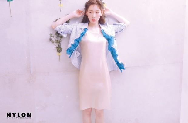 Ở tuổi 30, Taeyeon dọa soán ngôi nữ thần nhan sắc SNSD của Yoona nhờ bộ hình tạp chí mới đẹp như tiên tử - Ảnh 7.