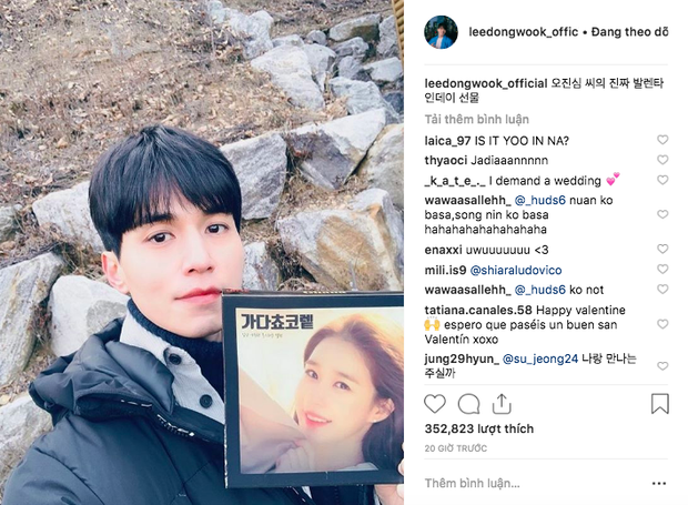 Ai đẩy thuyền thì ra mà xem, Lee Dong Wook và Yoo In Na thả thính công khai đúng vào ngày Valentine! - Ảnh 1.