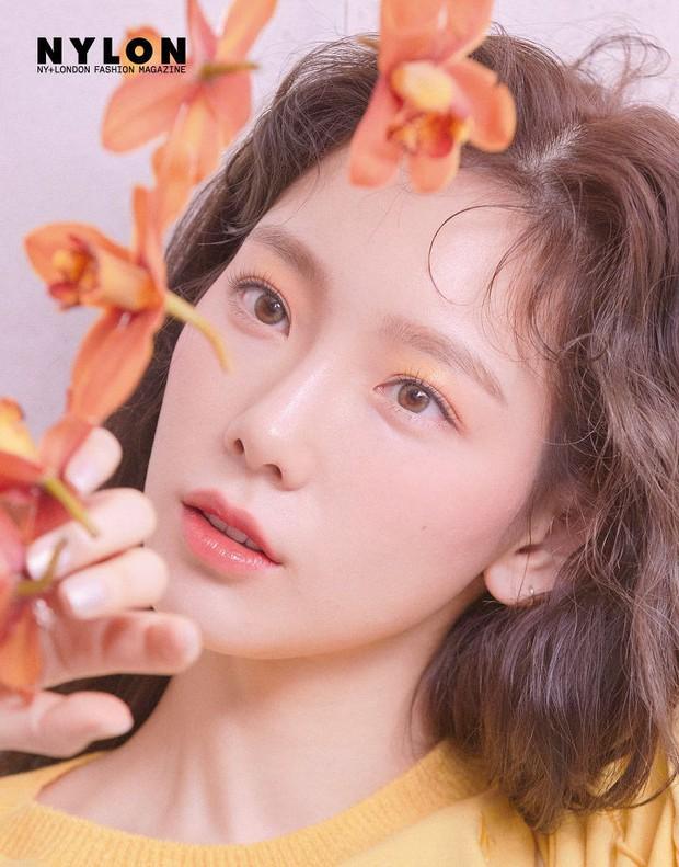 Ở tuổi 30, Taeyeon dọa soán ngôi nữ thần nhan sắc SNSD của Yoona nhờ bộ hình tạp chí mới đẹp như tiên tử - Ảnh 3.