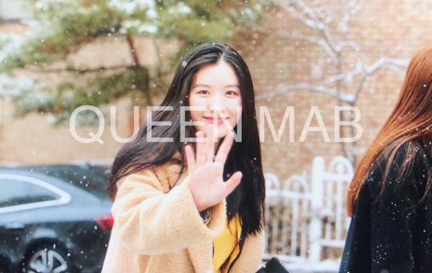 Lễ tốt nghiệp trung học của dàn idol Kpop: 2 mỹ nhân gây sốt vì quá xinh, học sinh phỏng vấn, chụp ảnh như đi sự kiện - Ảnh 4.