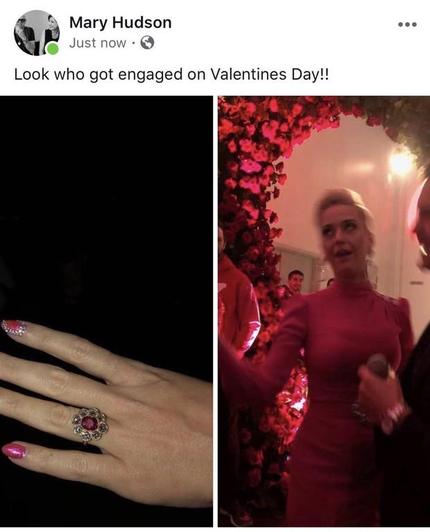 Katy Perry xác nhận sắp cưới lần 2 sau khi được Orlando Bloom cầu hôn đúng dịp Valentine - Ảnh 1.