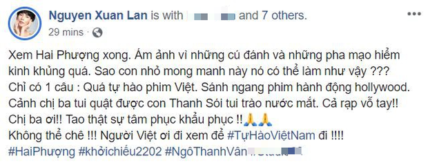 Sao Việt và khán giả Hà Nội rần rần vì Hai Phượng: Từ đầu tới cuối thót tim quá mức! - Ảnh 13.