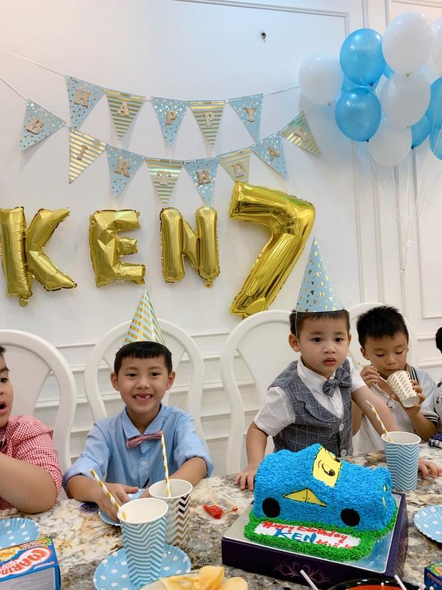 Dương Khắc Linh cùng bạn gái đến tiệc mừng quý tử nhà Đăng Khôi - Thủy Anh tròn 7 tuổi - Ảnh 6.