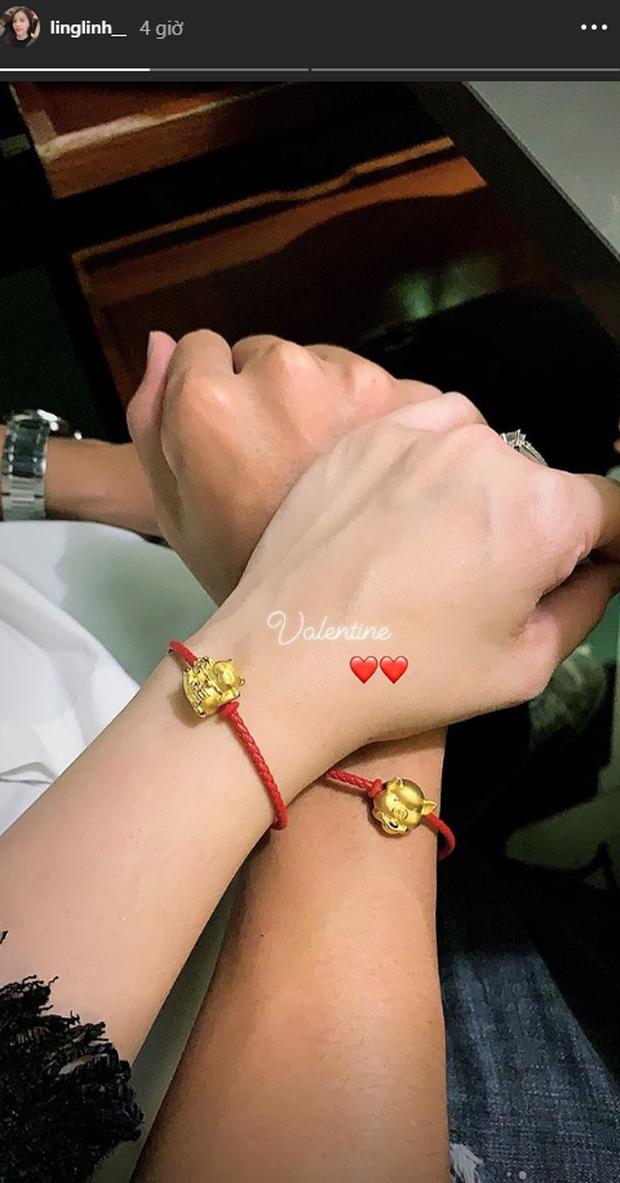 Valentine đầu tiên công khai gấu, Bùi Tiến Dũng tặng bạn gái món quà ngọt ngào - Ảnh 2.
