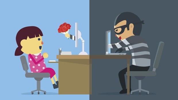 Mặt trái của Valentine: Lừa đảo hẹn hò trực tuyến khiến người Mỹ bay 143 triệu USD - Ảnh 1.