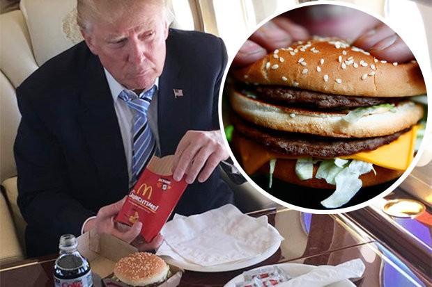 Tăng cân lên hơn 110kg, Tổng thống Trump chính thức bị béo phì - Ảnh 2.