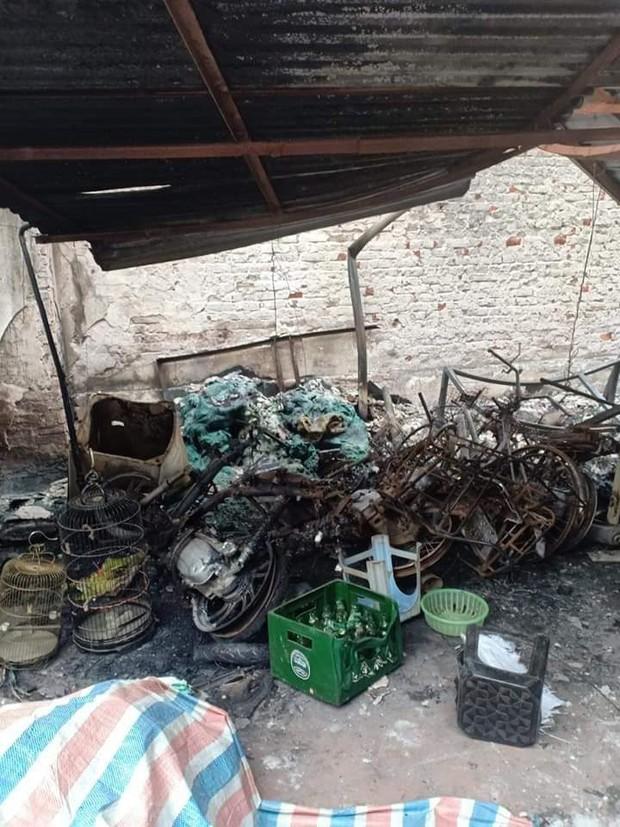 Hà Nội: Cháy nhà khiến con gái tử vong đúng mồng 1 Tết, gia đình nghi ngờ có người cố tình phóng hỏa - Ảnh 1.