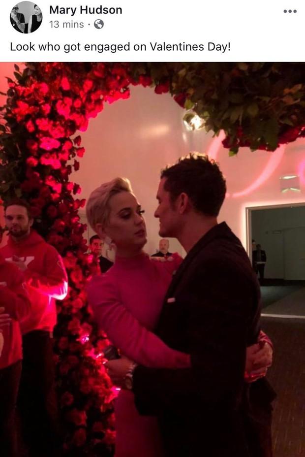 Katy Perry xác nhận sắp cưới lần 2 sau khi được Orlando Bloom cầu hôn đúng dịp Valentine - Ảnh 2.