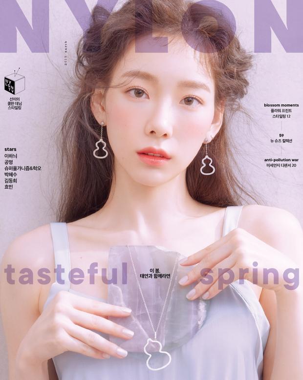 Ở tuổi 30, Taeyeon dọa soán ngôi nữ thần nhan sắc SNSD của Yoona nhờ bộ hình tạp chí mới đẹp như tiên tử - Ảnh 4.