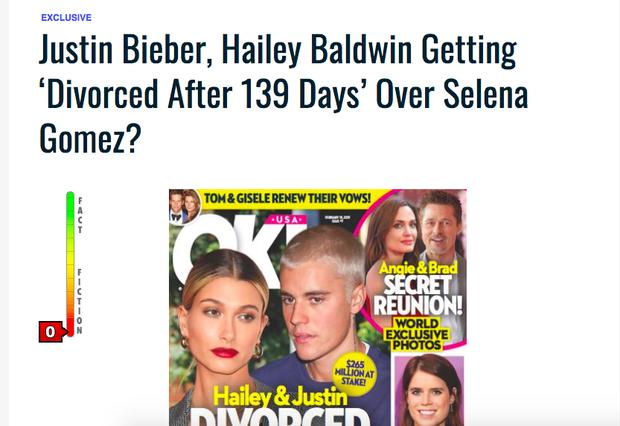 Dân tình náo loạn trước tin Justin Bieber và Hailey Baldwin ly dị sau 139 ngày chỉ vì Selena, nhưng sự thật là gì? - Ảnh 2.