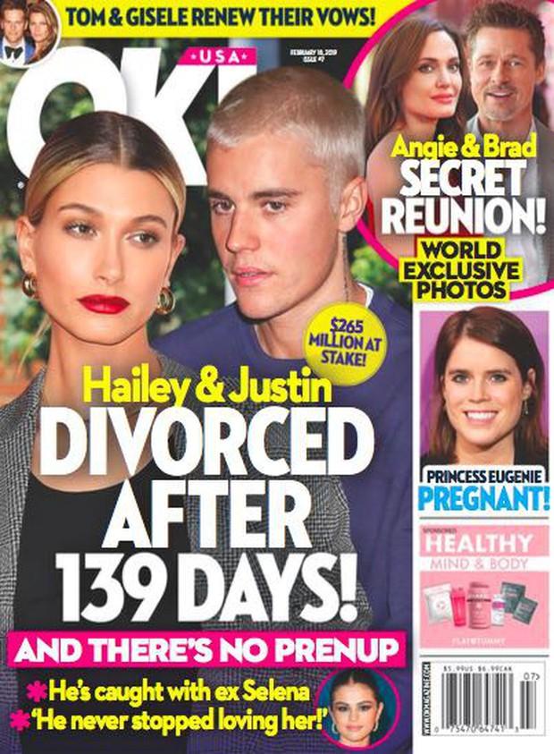 Dân tình náo loạn trước tin Justin Bieber và Hailey Baldwin ly dị sau 139 ngày chỉ vì Selena, nhưng sự thật là gì? - Ảnh 1.