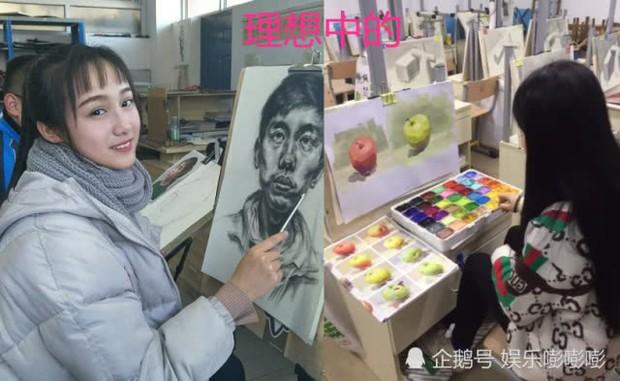 Sinh viên mỹ thuật: Tưởng toàn soái ca mỹ nữ như nghệ sĩ, thực chất là ngày đêm đầu bù tóc rối bên bảng vẽ - Ảnh 1.