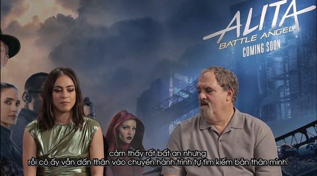 Clip phỏng vấn Thiên thần chiến binh Alita: Rosa Salazar không thích làm siêu anh hùng nhờ siêu năng lực - Ảnh 3.