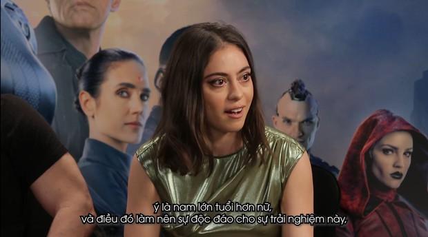 Clip phỏng vấn Thiên thần chiến binh Alita: Rosa Salazar không thích làm siêu anh hùng nhờ siêu năng lực - Ảnh 4.