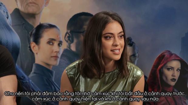 Clip phỏng vấn Thiên thần chiến binh Alita: Rosa Salazar không thích làm siêu anh hùng nhờ siêu năng lực - Ảnh 6.