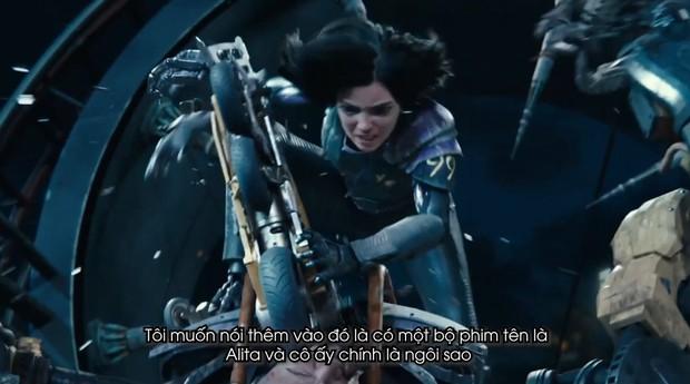 Clip phỏng vấn Thiên thần chiến binh Alita: Rosa Salazar không thích làm siêu anh hùng nhờ siêu năng lực - Ảnh 8.