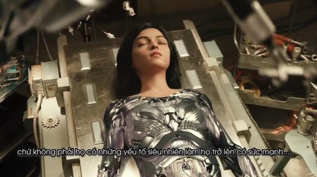 Clip phỏng vấn Thiên thần chiến binh Alita: Rosa Salazar không thích làm siêu anh hùng nhờ siêu năng lực - Ảnh 10.