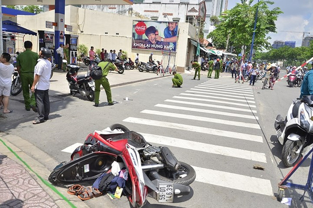 Đến giúp bạn gái giải quyết mâu thuẫn, nam thanh niên bị chém trọng thương ở Sài Gòn - Ảnh 1.