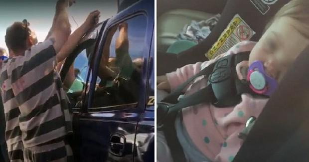 Tù nhân Mỹ trổ ngón nghề đột nhập xe hơi, giải cứu em bé 1 tuổi - Ảnh 1.
