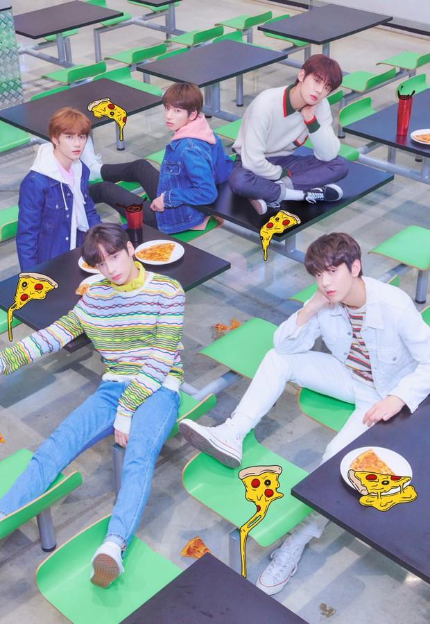 TXT tung ảnh nhá hàng cho album đầu tay, thành viên giống Jungkook (BTS) được quan tâm số một! - Ảnh 2.