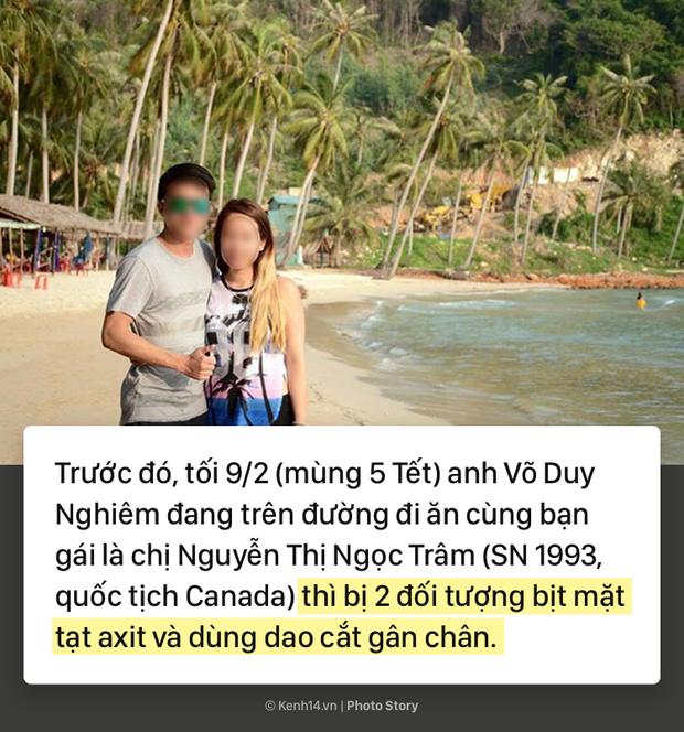 Toàn cảnh vụ Việt kiều bị tạt axit, cắt gân chân ở Quảng Ngãi và những tình tiết bất ngờ - Ảnh 3.