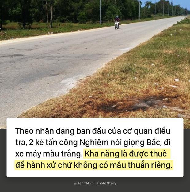 Toàn cảnh vụ Việt kiều bị tạt axit, cắt gân chân ở Quảng Ngãi và những tình tiết bất ngờ - Ảnh 5.