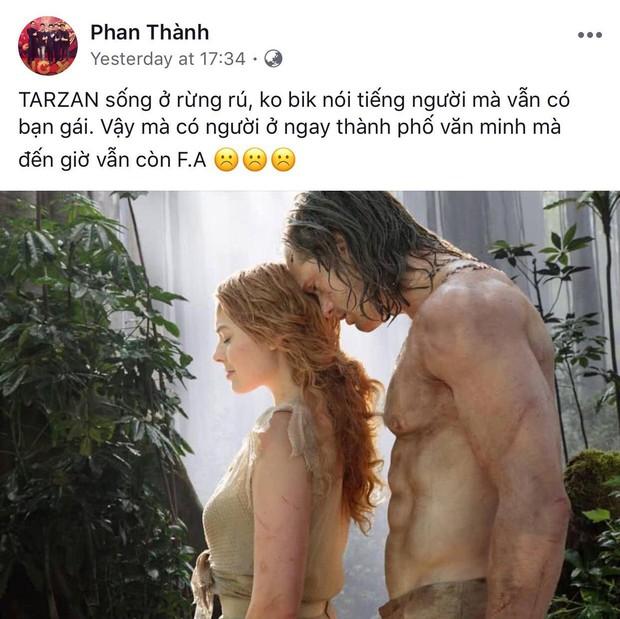 Phan Thành - Thiếu gia chăm thả thính nhất Việt Nam: Dăm bữa nửa tháng lại có một cái status đầy ẩn ý! - Ảnh 2.