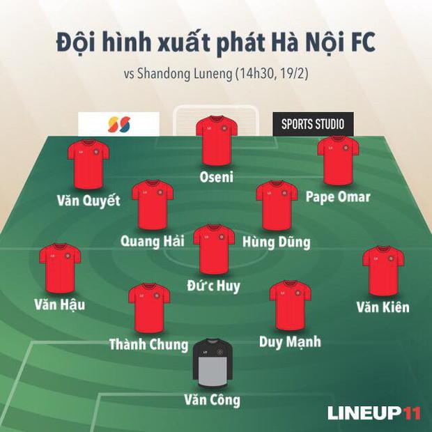 CLB Hà Nội chơi trên cơ đại gia Trung Quốc nhưng thua ngược tiếc nuối bởi sai lầm không đáng có - Ảnh 4.