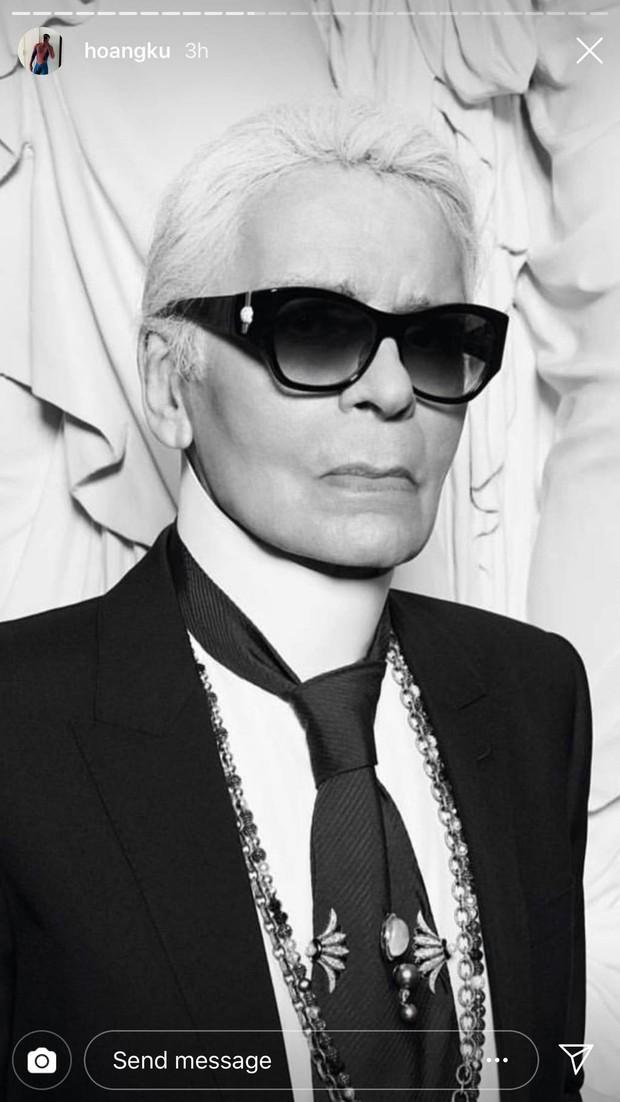 Hoa hậu Mai Phương Thuý, Á hậu Phương Nga và nhiều NTK, stylist thương tiếc trước sự ra đi của huyền thoại thời trang Karl Lagerfeld - Ảnh 9.