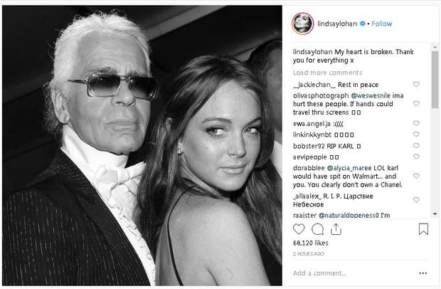 Karl Lagerfeld qua đời, Victoria Beckham, Gigi, Bella Hadid và loạt sao thế giới bày tỏ niềm thương tiếc với huyền thoại thời trang - Ảnh 22.
