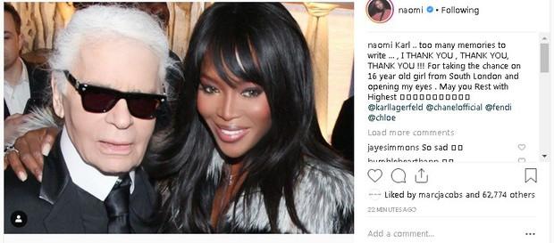 Karl Lagerfeld qua đời, Victoria Beckham, Gigi, Bella Hadid và loạt sao thế giới bày tỏ niềm thương tiếc với huyền thoại thời trang - Ảnh 8.