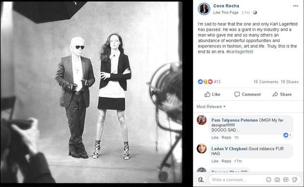 Karl Lagerfeld qua đời, Victoria Beckham, Gigi, Bella Hadid và loạt sao thế giới bày tỏ niềm thương tiếc với huyền thoại thời trang - Ảnh 9.