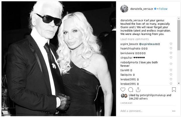 Karl Lagerfeld qua đời, Victoria Beckham, Gigi, Bella Hadid và loạt sao thế giới bày tỏ niềm thương tiếc với huyền thoại thời trang - Ảnh 17.